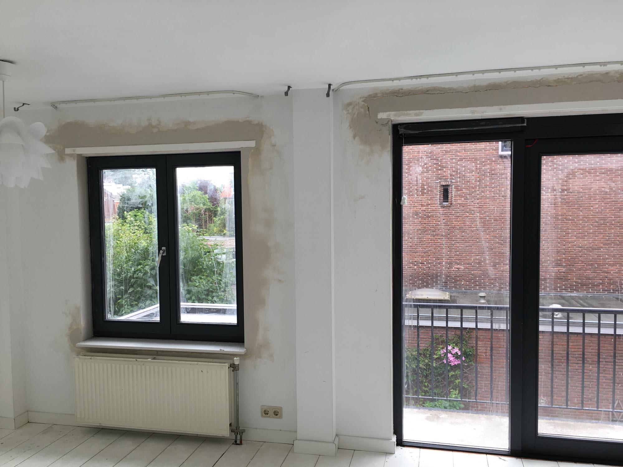 Wanden en plafonds q bouw bouwbedrijf for Wanden nieuwbouwwoning afwerken